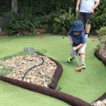 Qld school holiday - Victoria Park, Brisbane Putt Putt, Playground & Bistro