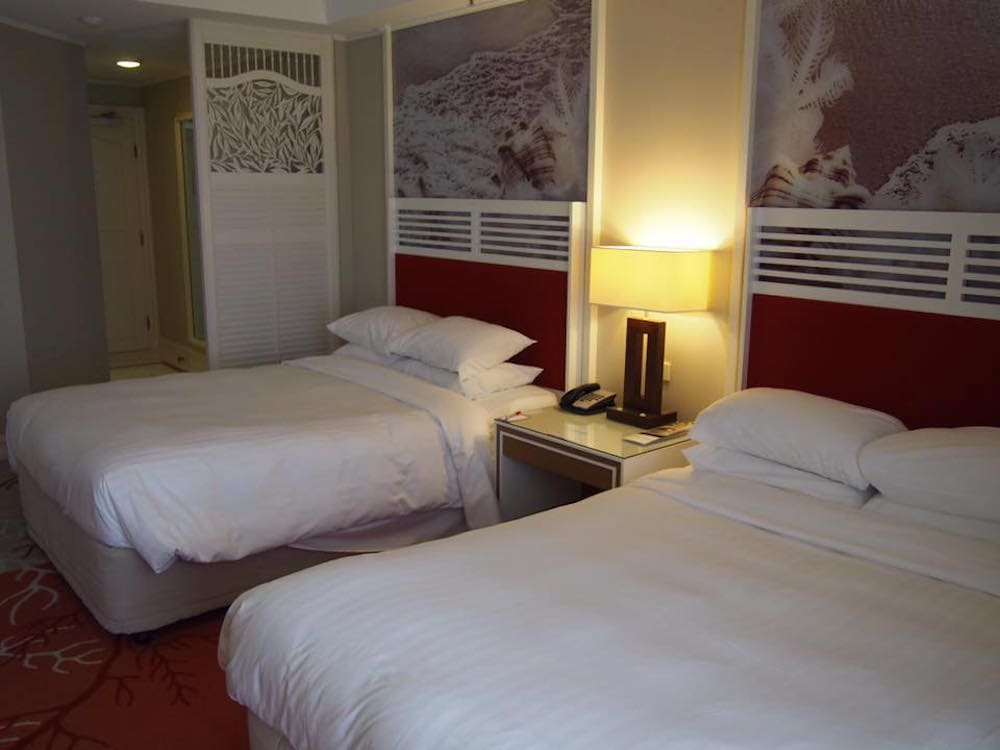 Photo of double room at Surfers Paradise Marriott Resort & Spa