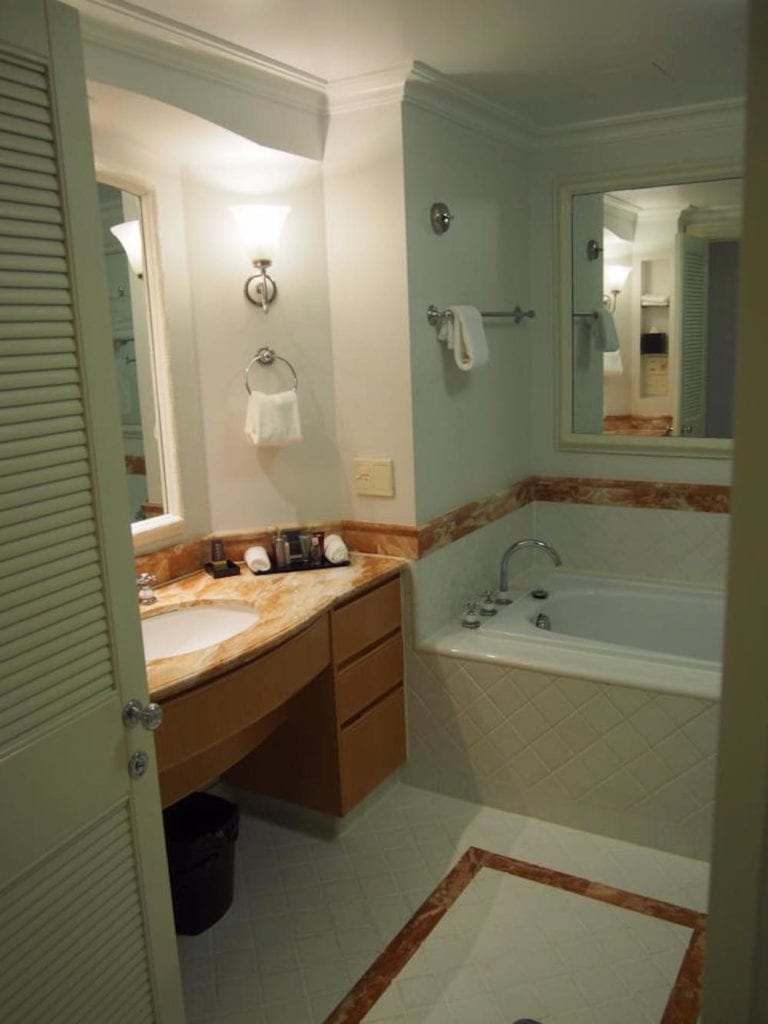 Photo of bathroom at Surfers Paradise Marriott Resort & Spa