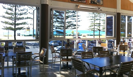 Family Friendly Surf Clubs on the Gold COast Mermaid Beach surf club picture of restaurant with ocean views