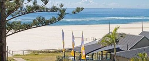 North Kirra Family Friendly Surf Clubs on the Gold COast picture of beach taken from club balcony