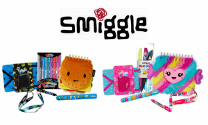 Win 1 of 4 Back to School Prize Packs from Smiggle merchandise shots