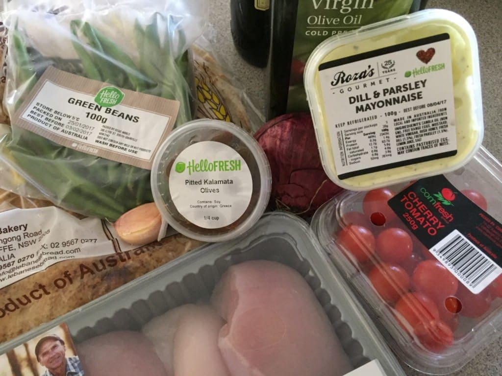 Hellofresh  Meal Kit Delivery Service Box Dimensions