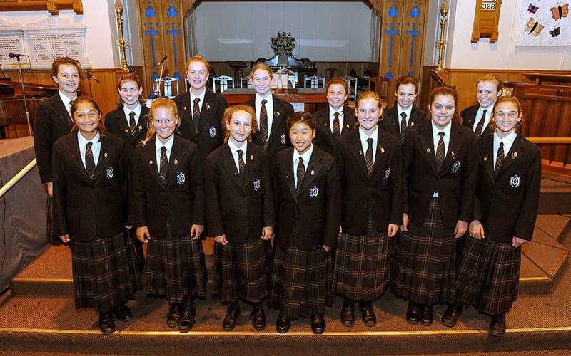 Fairholme College students
