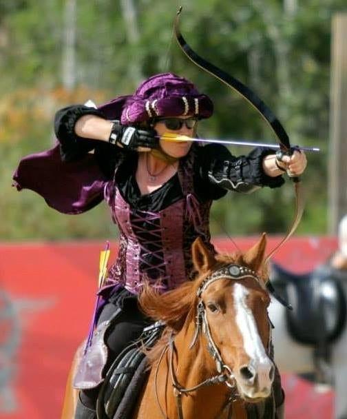 Watch the amazing display of horseback archery at the Mount Tamborine 2017 Show