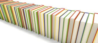 Row of books at Sunnybank Hills Library