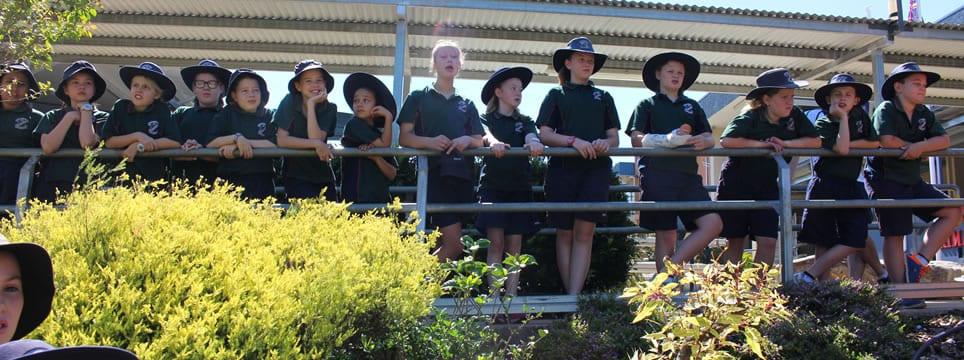 St Saviour's Primary School students