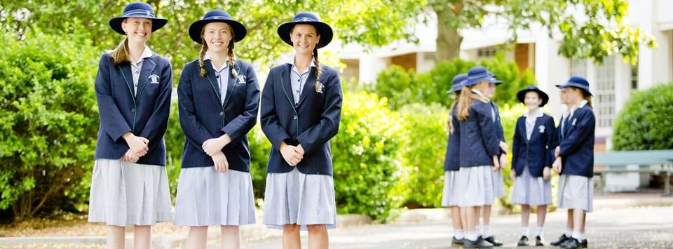 St Ursula's College girls