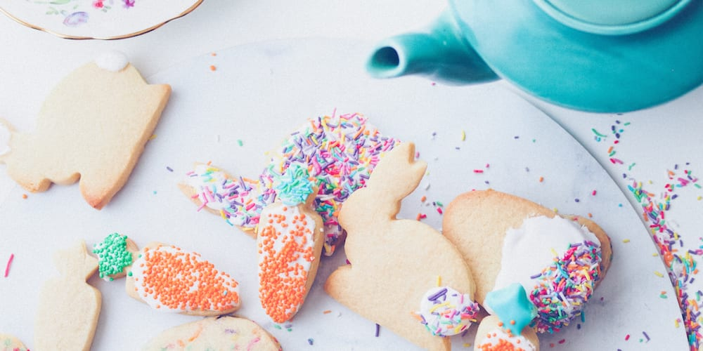 Funfetti Sugar Cookies - diy christmas gifts