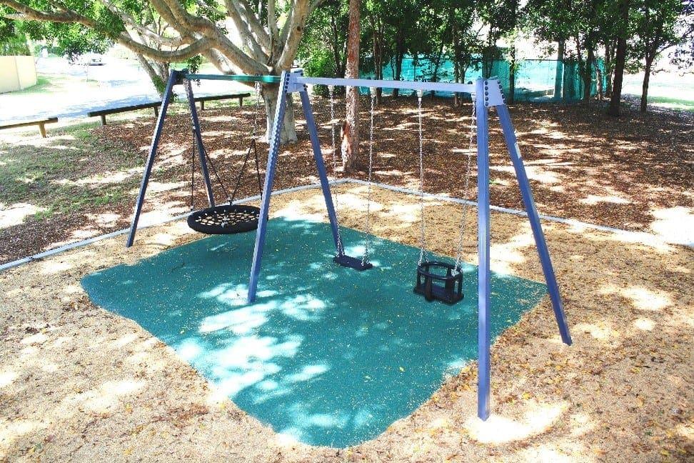 Wendouree Crescent Park Playground swings
