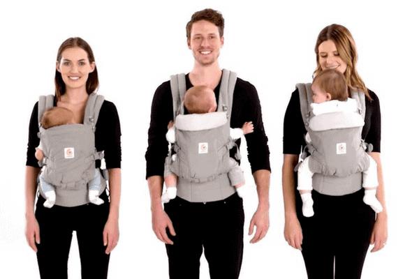 babywearing ergobaby adapt