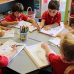 sacred heart primary school children