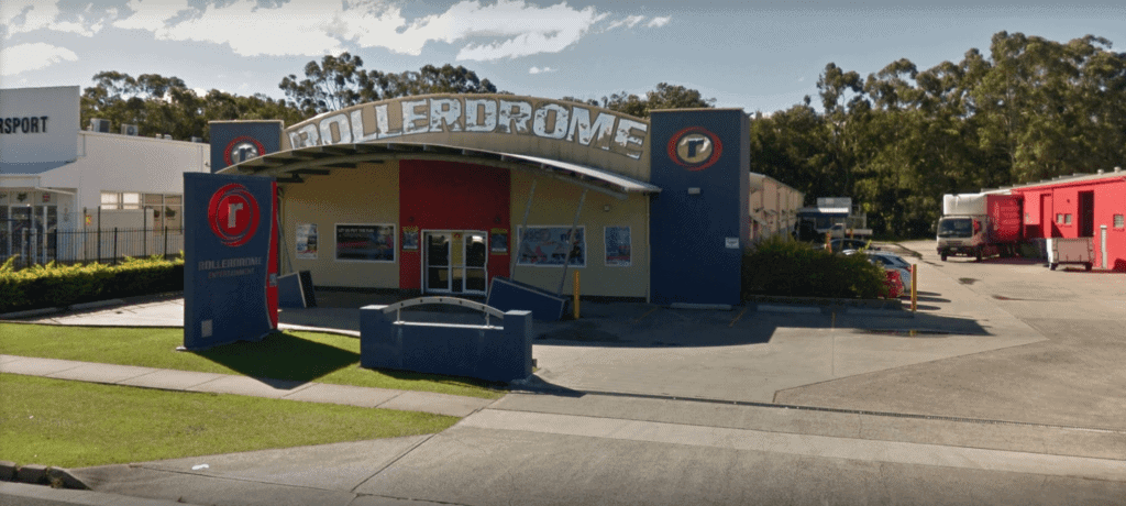 Caloundra rollerdrome store front street vew