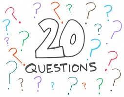 20 questions - 10 best kids car games