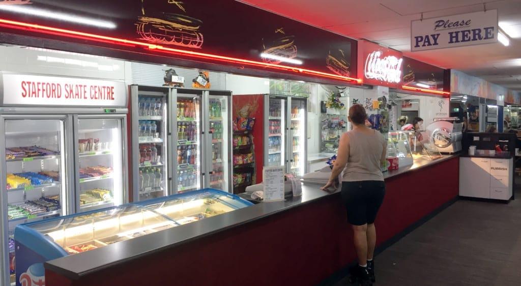 stafford skate centre snack facilities