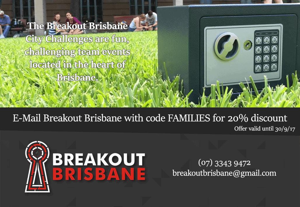 Breakout Brisbane voucher