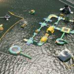 Aerial view of AquaSplash