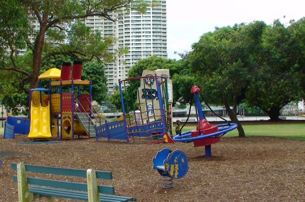 Captain Burke Park playground