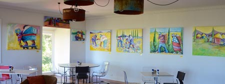 Hilltop on Tamborine art gallery