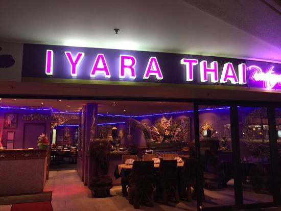 Iyara Thai restaurant sign