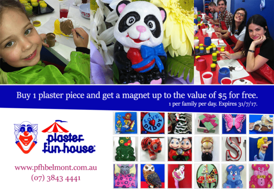 Plaster Fun House Voucher