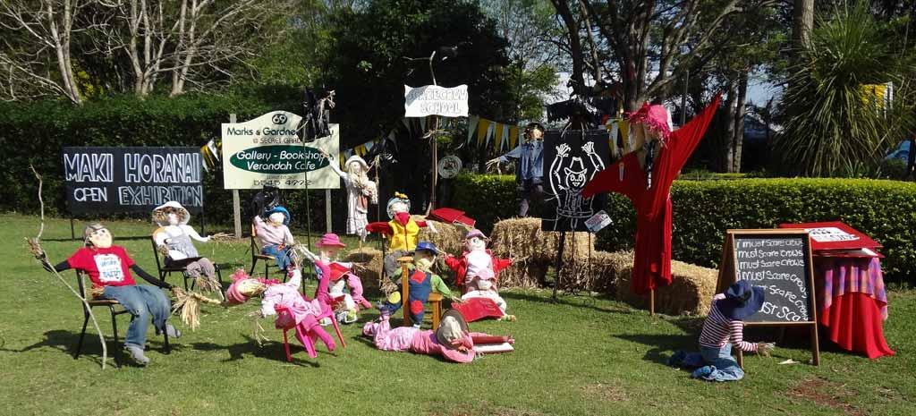 Mt Tamborine festivals -Scarecrow Festival Mt tamborine
