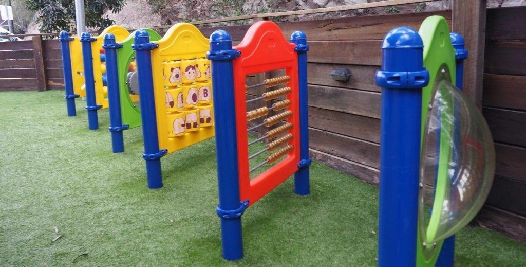 The Alley cafe playground eqipment - best breakfasts in Brisbane