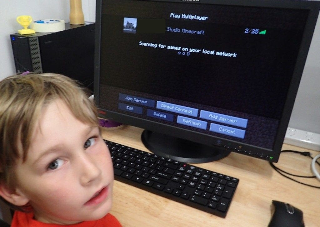 Screen Time and Minecraft