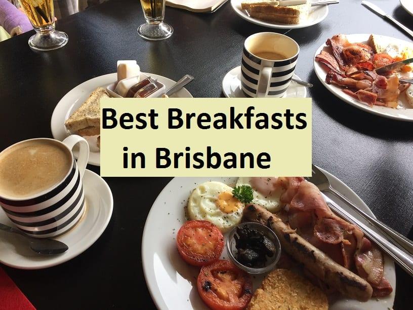 best breakfasts in Brisbane