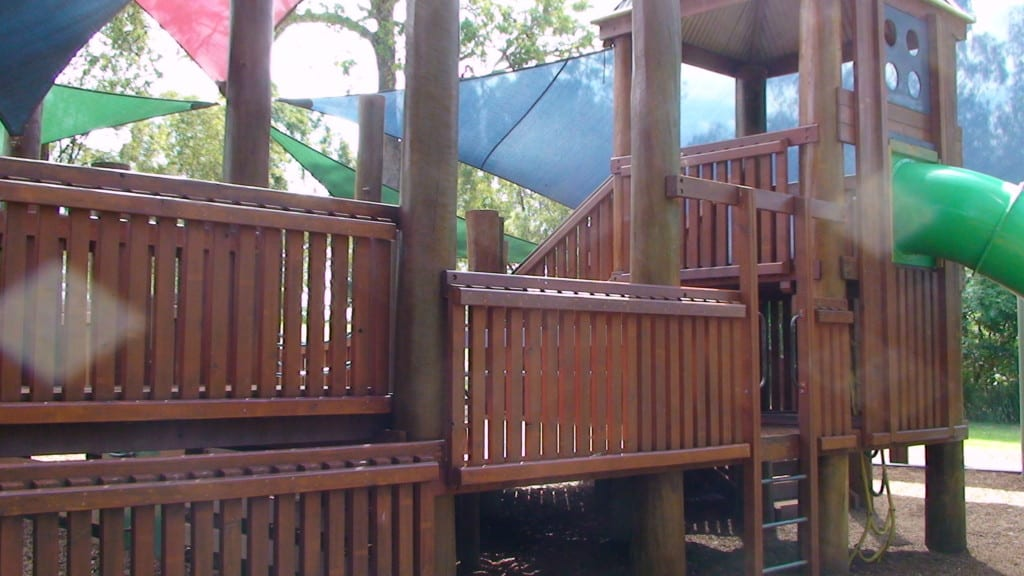 grinstead park wooden play equipment
