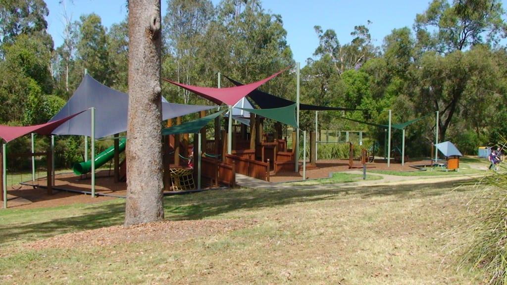 grinstead park wooden playground