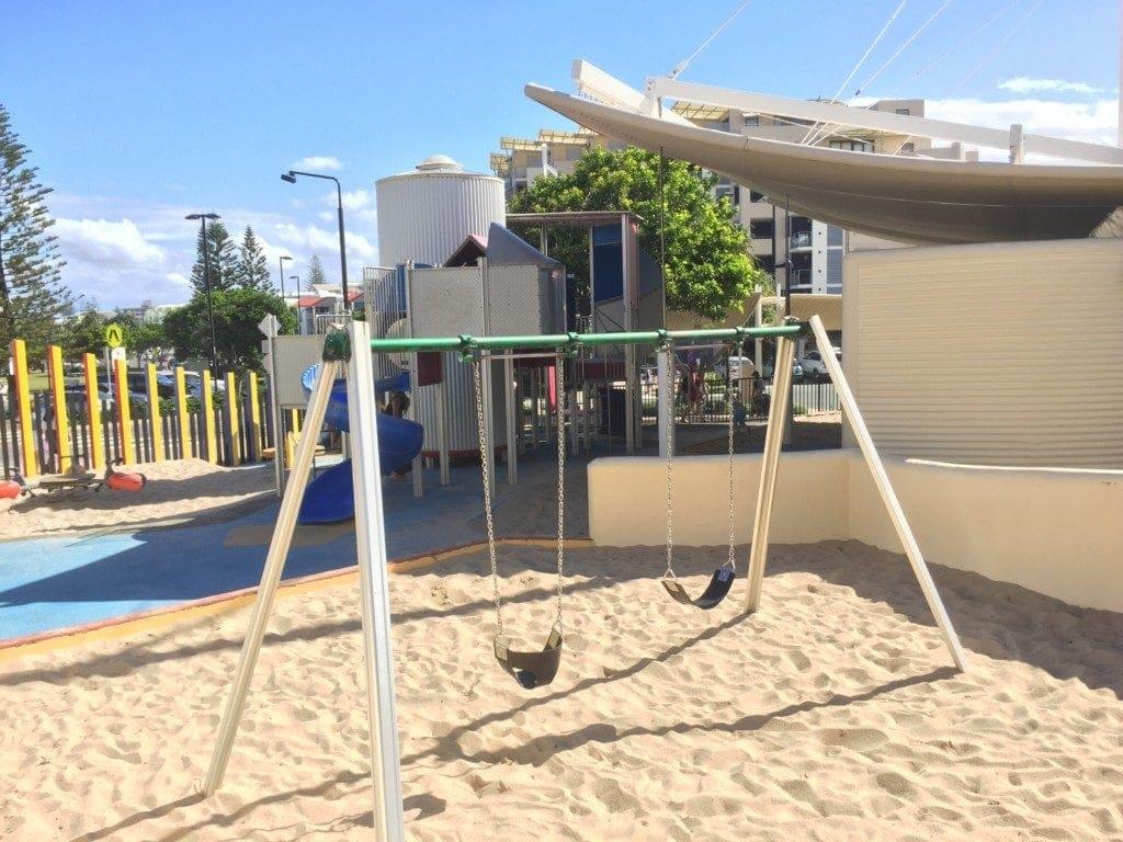 Kings Beach Caloundra - playground