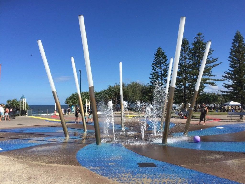 Kings Beach Caloundra - water playground