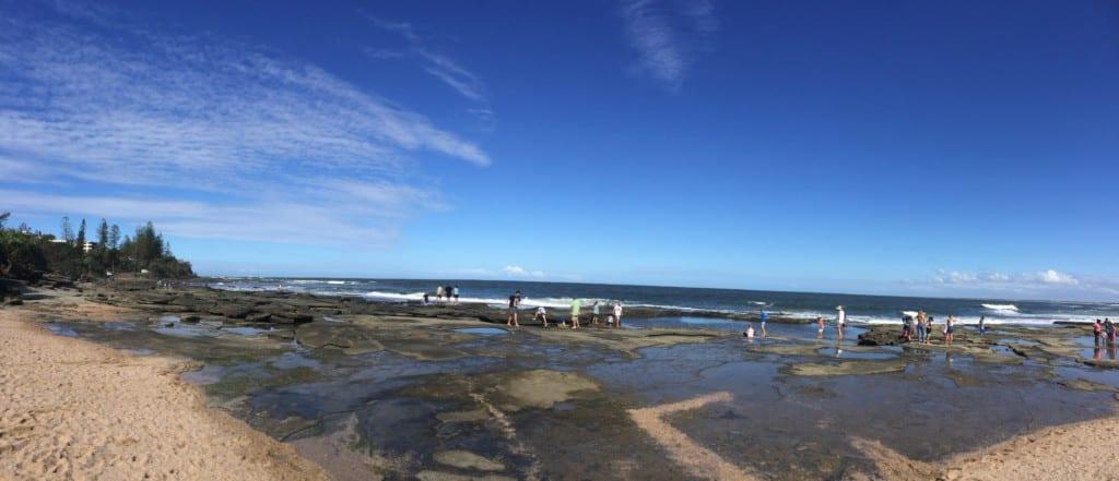 Kings Beach Caloundra rock pools