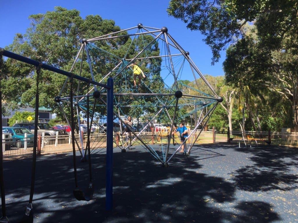 Woorim Beach Bribie Island playground