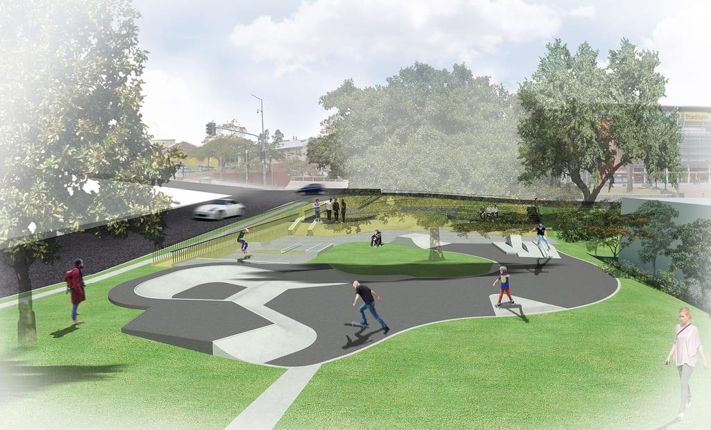 Paddington Skate Park | Stage 2 Upgrade for Kids