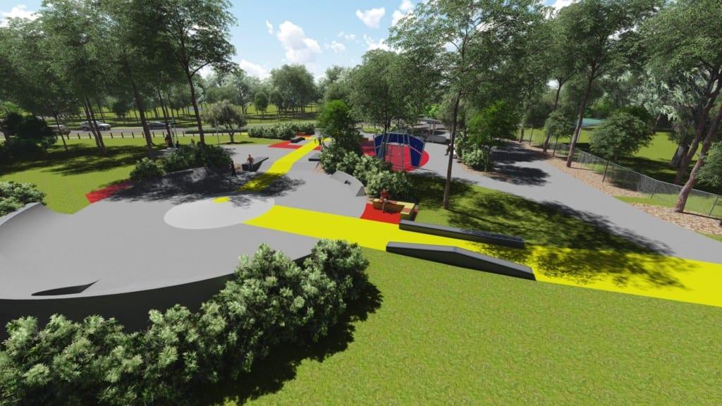 Harris Avenue Skate park Narangba