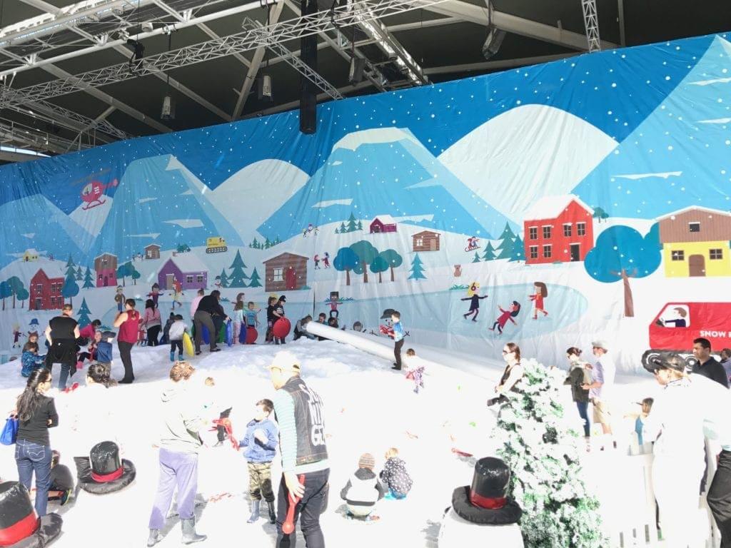 Snow 4 Kids 2017 set up