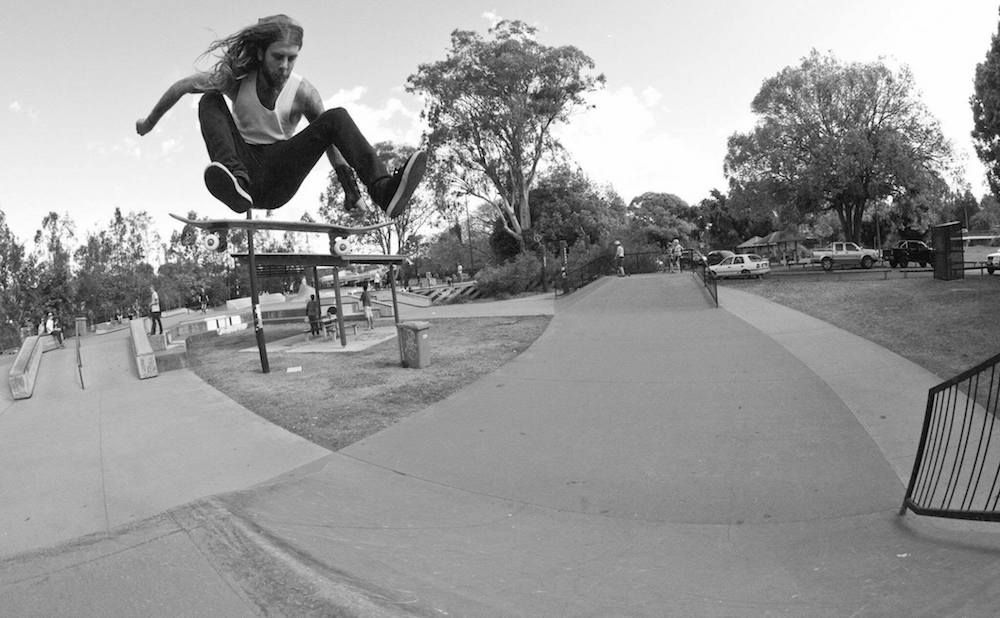 Pat Dandy at Nerang Skate park
