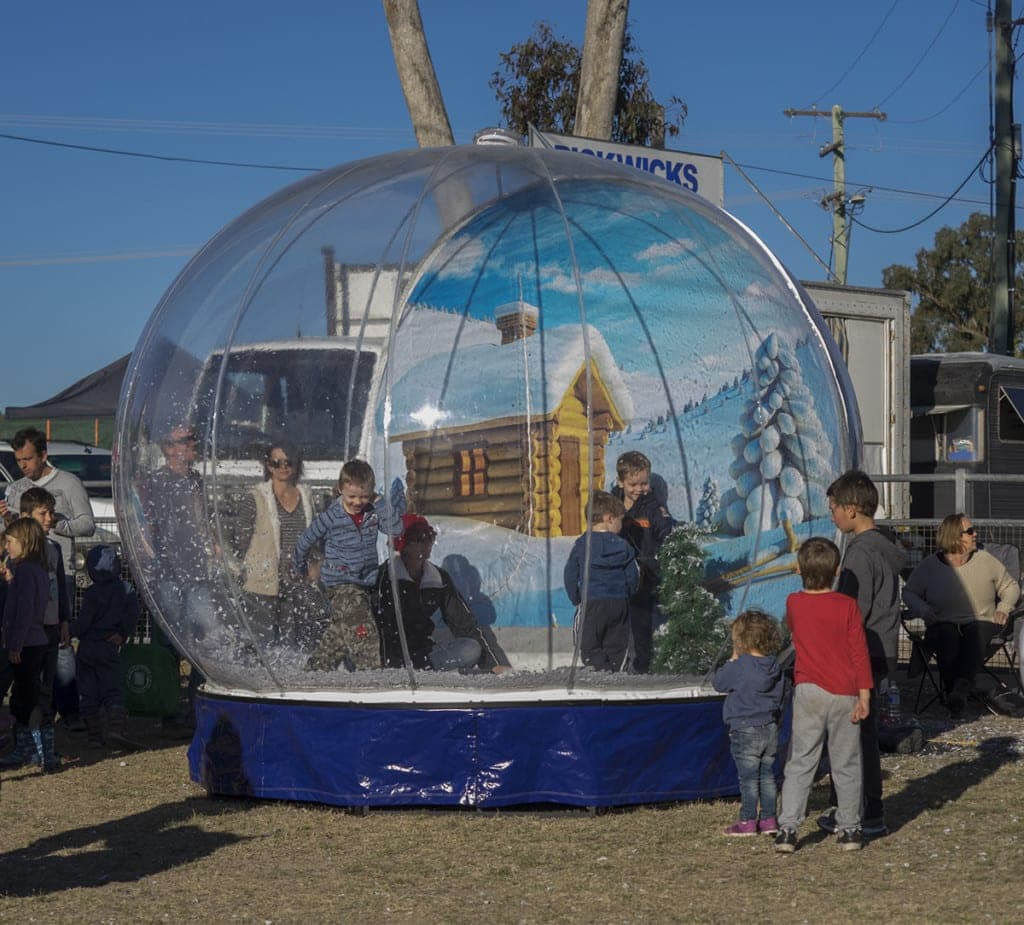 Snowflakes in Stanthorpe Festival