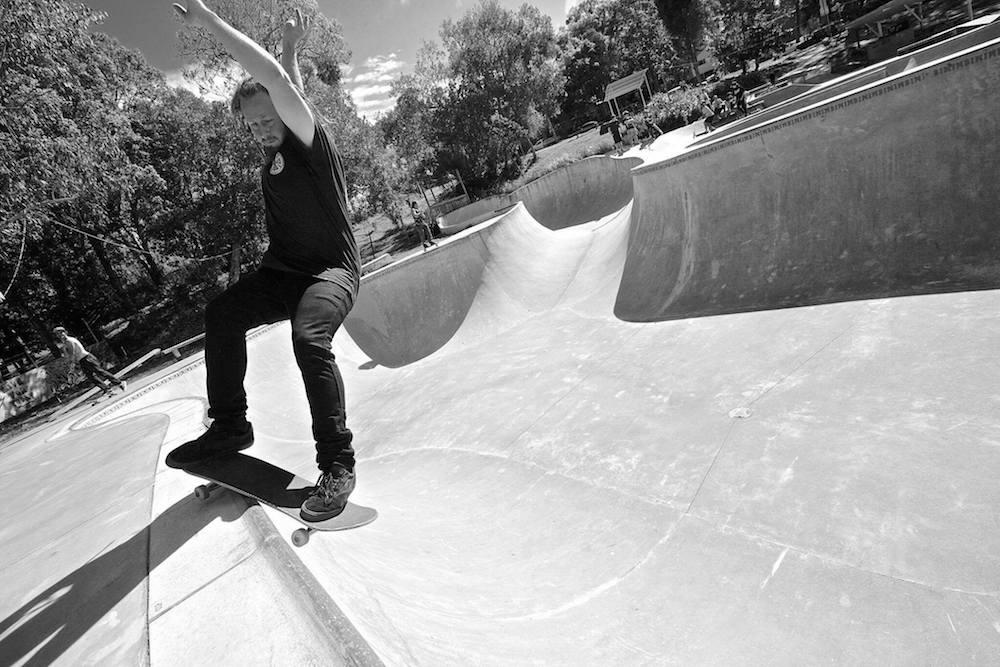 Tony Lawrence nimbin skate park