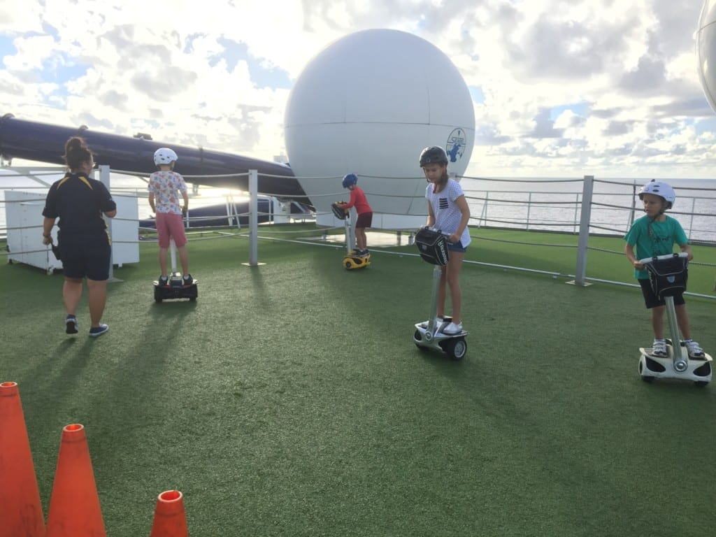 P&O Cruises The Edge Segway