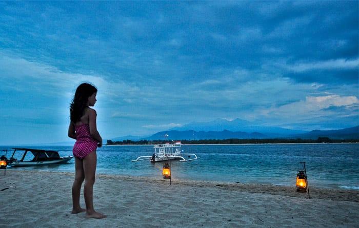Gili Air near Bali