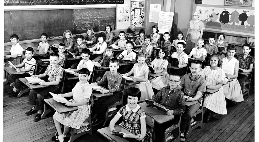 Then and Now – 10 ways schools have changed.