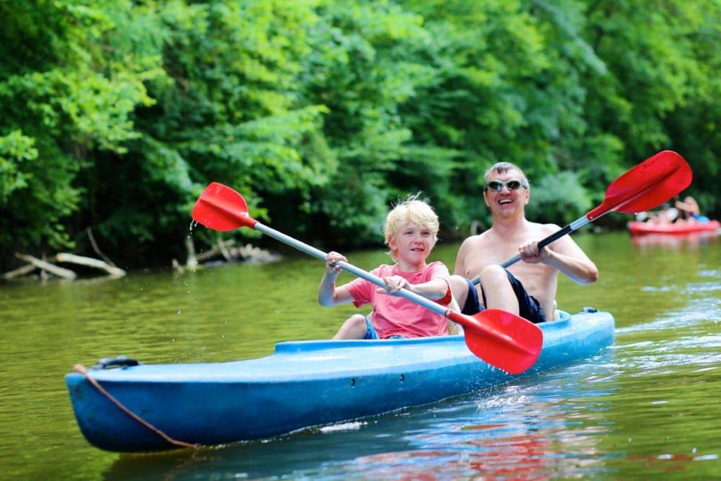 kayaking Sunshine Coast