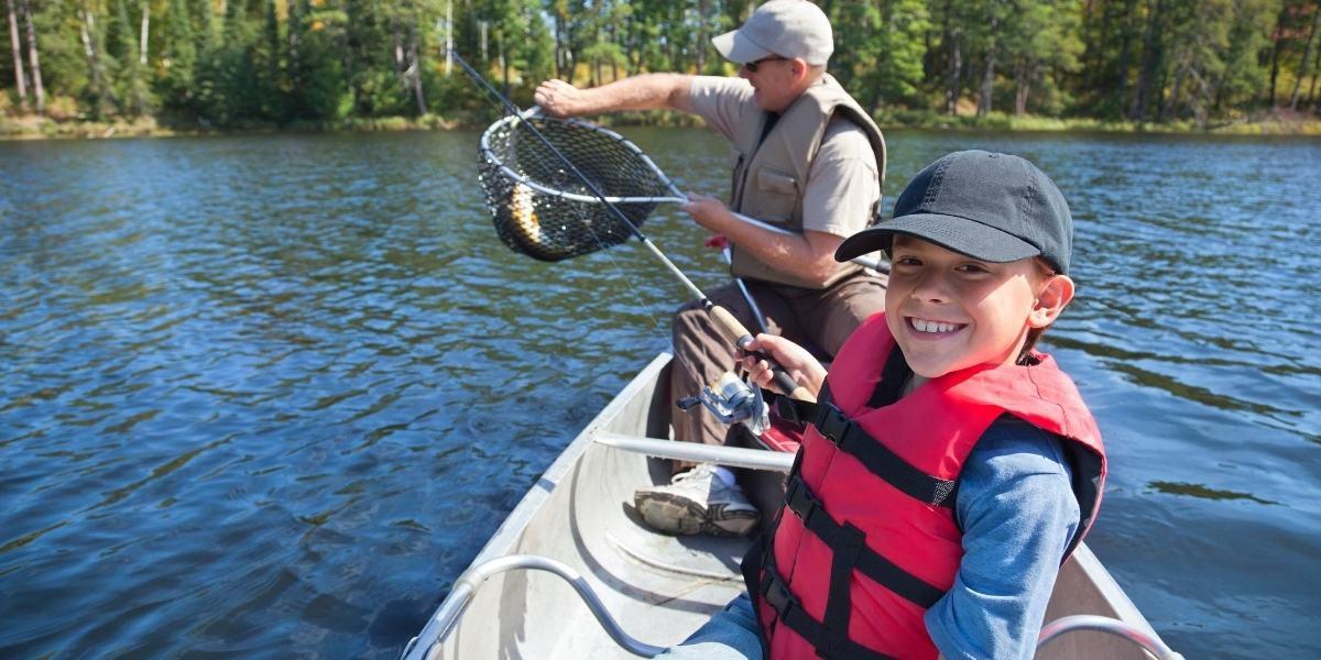 Fishing at Lake Moogerah