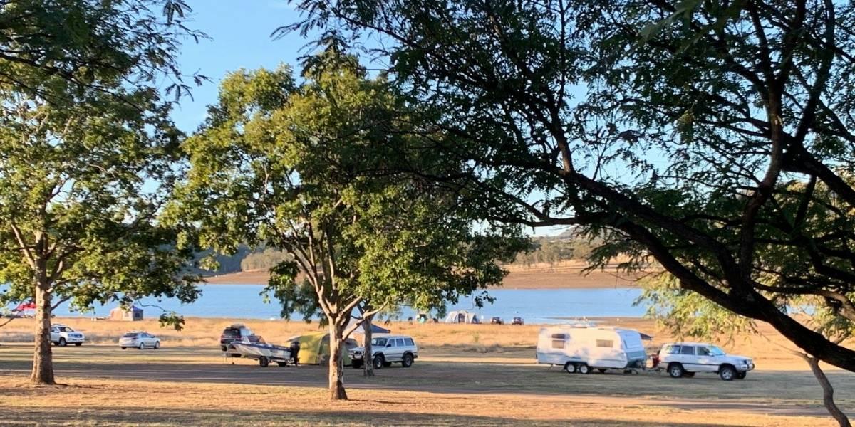 Lake Moogerah Camping ground
