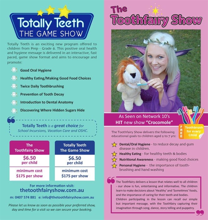 Tooth Fairy Show 2