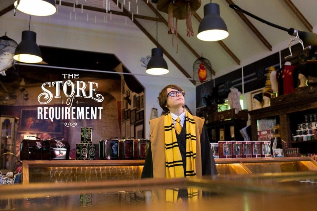 Harry Potter Shop Samford - The Store of Requirement