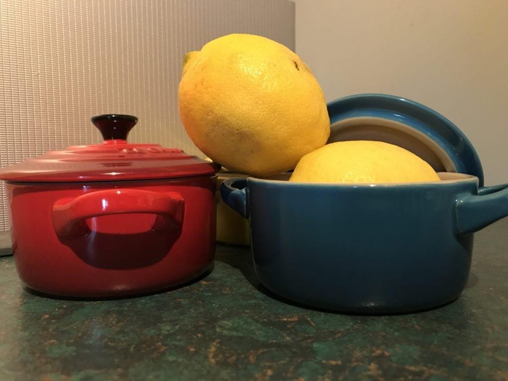 Self saucing lemon pudding feature image